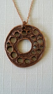 Esoteric Disk Necklace